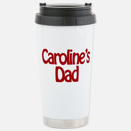 Caroline's Dad Stainless Steel Travel Mug