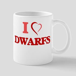 I love Dwarfs Mugs