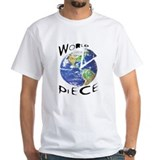 Amnesty international Mens Classic White T-Shirts