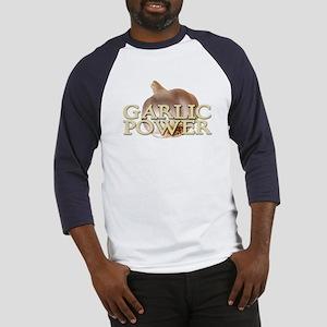 Garlic Power Baseball Jersey