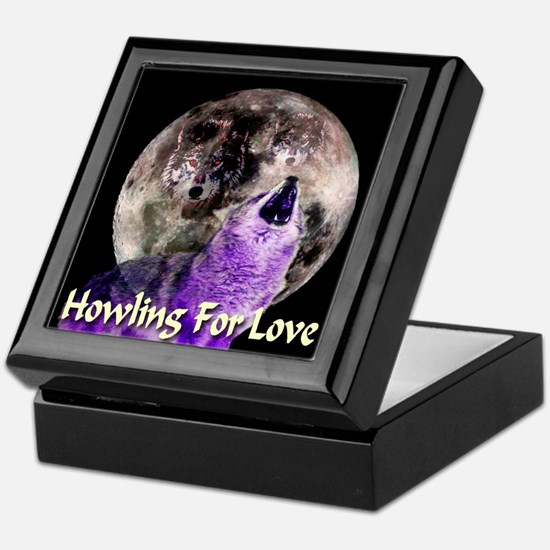 Howling For Love Keepsake Box