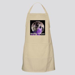 Howling For Love BBQ Apron