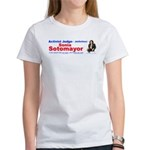Sonia Sotomayor Activist Judg Women's T-Shirt