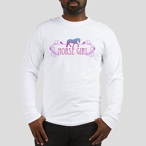 Horse Girl Long Sleeve T-Shirt