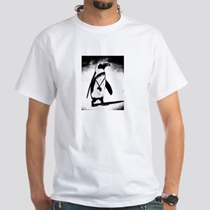 South African Penguin White T-Shirt