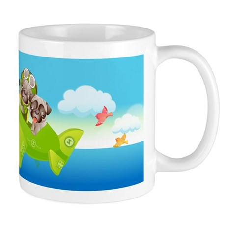 PUGFLY_MUG Mugs