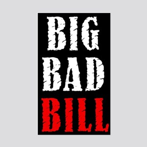 Big Bad Bill Rectangle Sticker