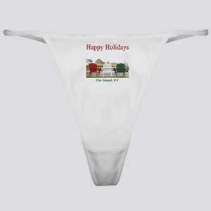 Fire Island Holiday Classic Thong