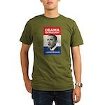 Obama JFK '60-Style Organic Men's T-Shirt (dark)