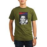 Obama RFK '68-Style Organic Men's T-Shirt (dark)