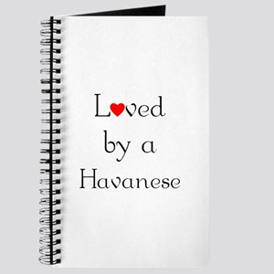 Loved by a Havanese Journal