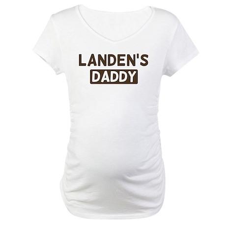 Landens Daddy Maternity T-Shirt