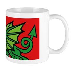 Midrealm Dragon Red Mug