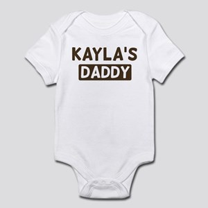 Kaylas Daddy Infant Bodysuit