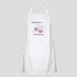 Happiness is...a Havanese BBQ Apron