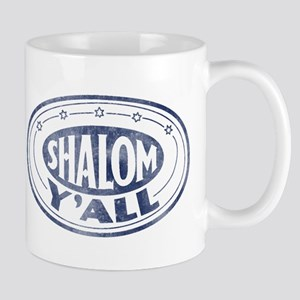 Shalom Y'all Retro - Distress Mug