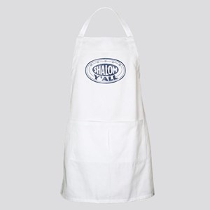 Shalom Y'all Retro - Distress BBQ Apron