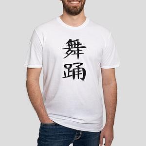 Dance - Kanji Symbol Fitted T-Shirt