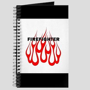 Firefighter Flames Journal