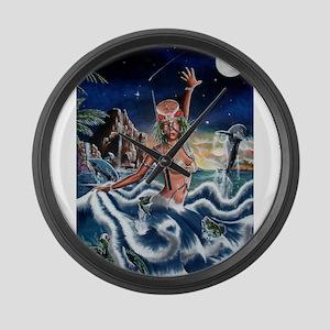 NEW !!!! THE ORISHA SERIES Y Large Wall Clock