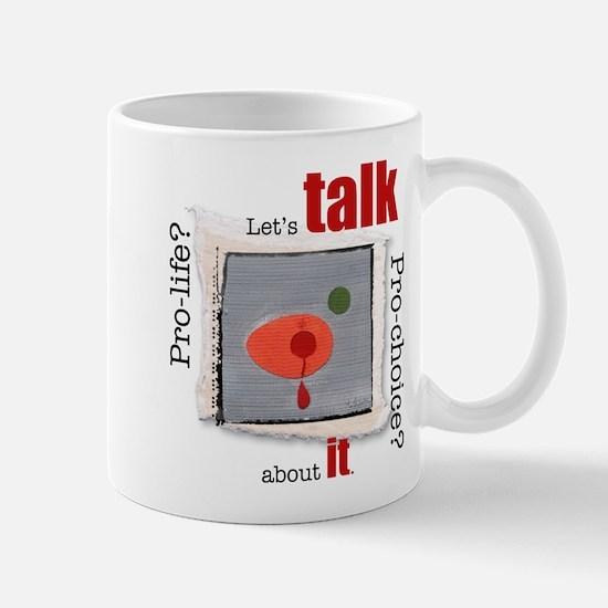Let's have a dialogue Mug
