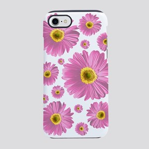 Pink Pop Daisy iPhone 7 Tough Case