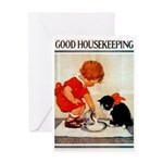 card_child_cat Greeting Cards