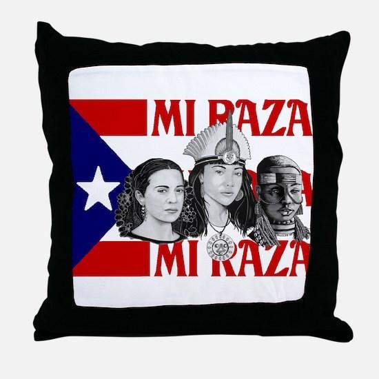 NEW!! MI RAZA (FOR WOMEN) Throw Pillow