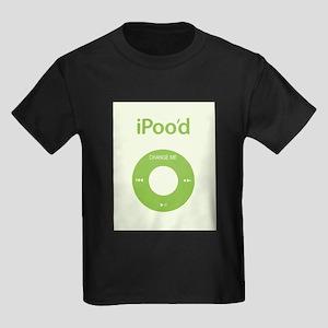 I'Pood Green - Kids Dark T-Shirt