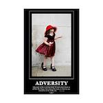 Mini Poster Print: ADVERSITY - 11x17