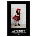 Large Poster: ADVERSITY - 23x35