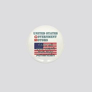 Chry or Gov. Buy American Mini Button