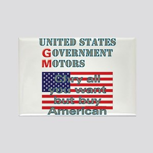 Chry or Gov. Buy American Rectangle Magnet (10 pac