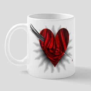 Shot Thru the Heart Mug