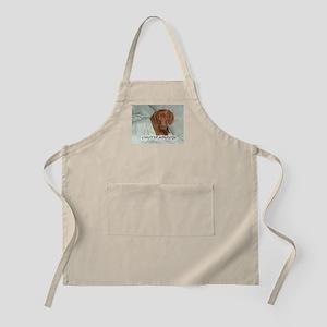 Mornings Dog BBQ Apron