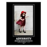 Small Poster: ADVERSITY - 16x20