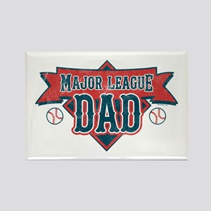 Major League Dad Rectangle Magnet