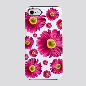 Fuchsia Pop Daisy iPhone 7 Tough Case