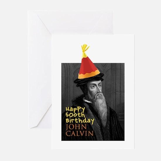Calvin 500 Greeting Cards (Pk of 10)
