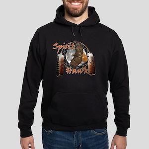 Spirit Hawk Hoodie (dark)
