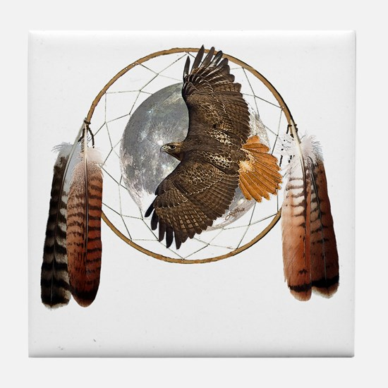 Spirit Hawk Tile Coaster