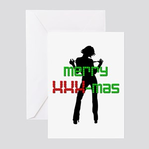 Merry XXX-Mas Greeting Cards (Pk of 10)