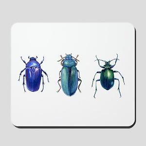 Iridescent Beetles Mousepad