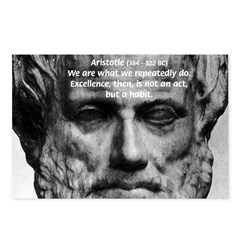 Greek Philosophy: Aristotle Postcards (Package of