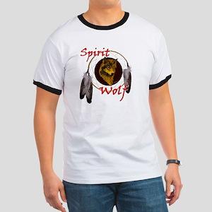 Spirit Wolf Ringer T