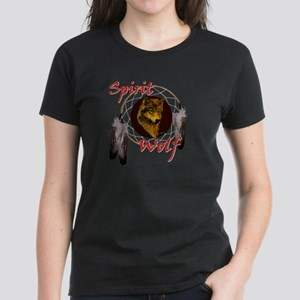Spirit Wolf Women's Dark T-Shirt