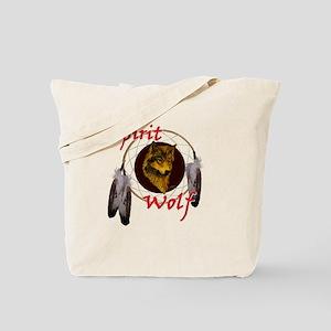 Spirit Wolf Tote Bag