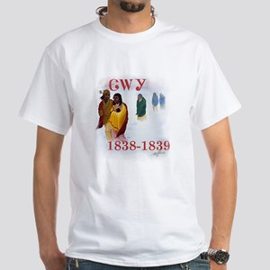 Cherokee Trail of Tears White T-Shirt