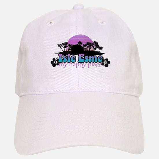 Isle Esme - My Happy Place Baseball Baseball Cap
