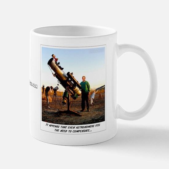 Compensating Astronomer Mug
